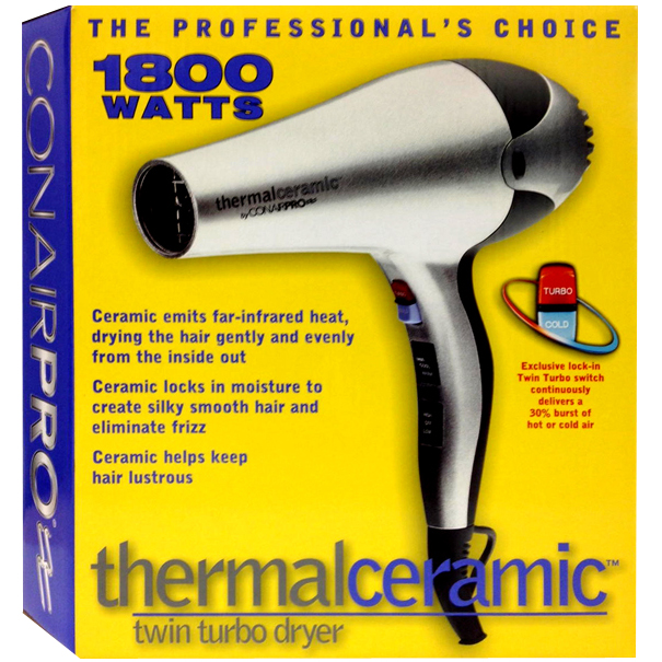 Conair CP5540 Pro Thermal Ceramic Twin Turbo Dryer