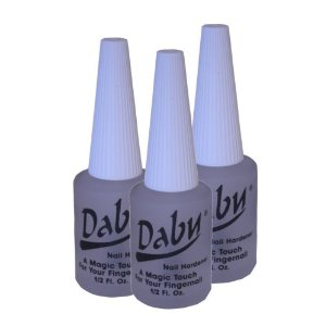 3 Pieces of Daby Nail Hardener