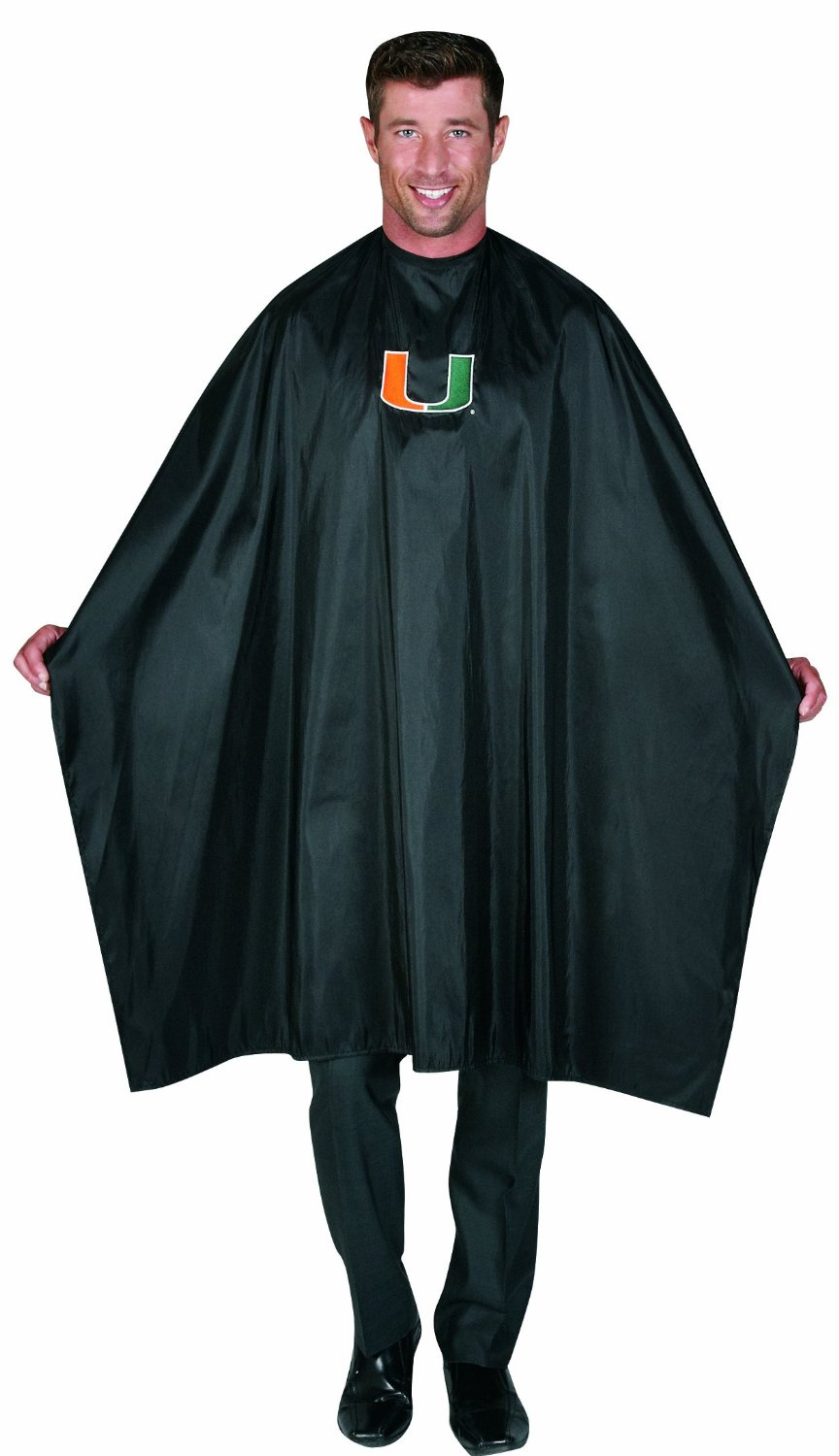 Collegiate Hair Styling Cape - University of Miami
