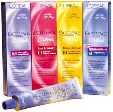 Loreal Excellence Cream Hair Color