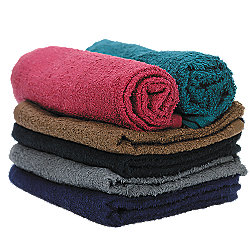 American Dawn 12 pack colored towels